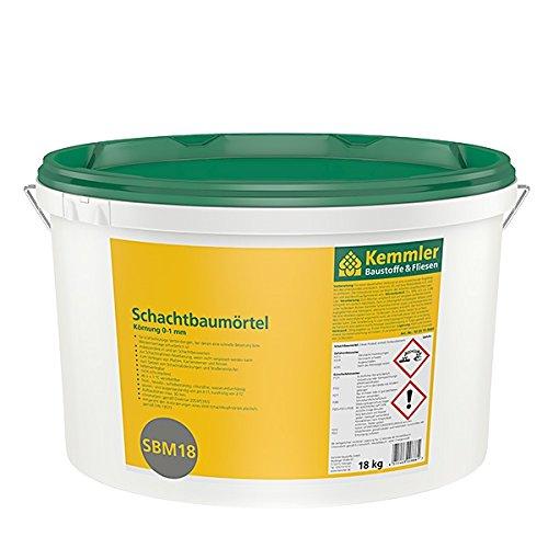 Preisvergleich Produktbild Kemmler SBM18 Schachtbaumörtel