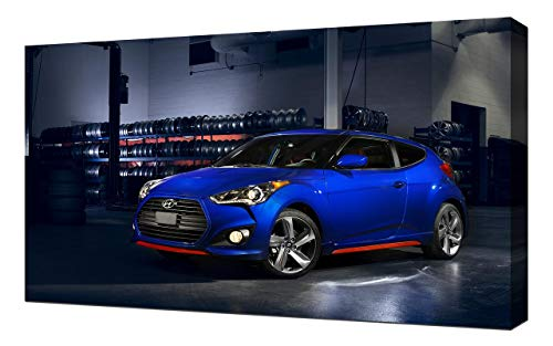 2014-Hyundai-Veloster-Turbo-R-Spec-V1-1080 - Canvas Art Print - Wall Art -  Canvas Wrap