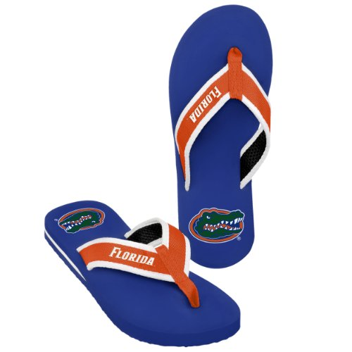 Florida Men's Team Color Contour Flip Flop Small
