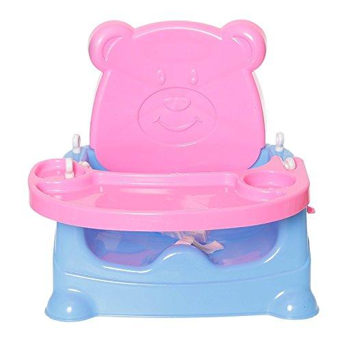 JoyKart Honey Bee 5 in 1 Baby Booster Seat Cum Swing - Pink