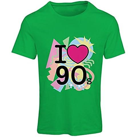 N4540F Camiseta mujer I Love 90's!