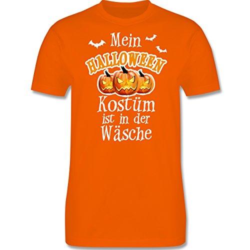 Anlässe Kind - Mein Halloween Kostüm ist in der Wäsche - 86-94 (2-3 Jahre) - Orange - L190K - Premium Kinder T-Shirt aus Baumwolle für Mädchen und (Kostüme Freche Mädchen Halloween)