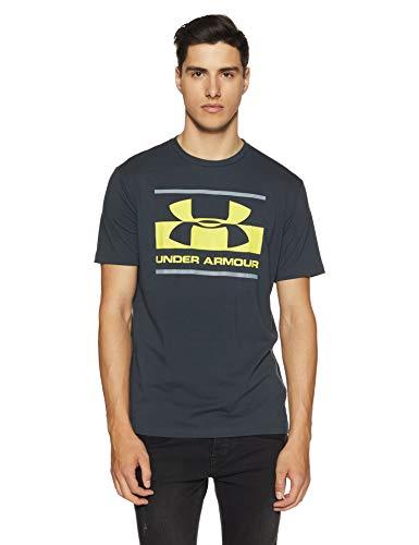 Under Armour Men's Plain Loose Fit T-Shirt (1305667-016_Anthracite_Medium)