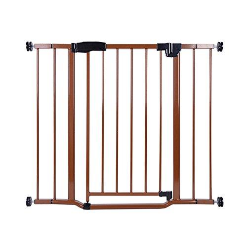 YNN Extensible Bébé Porte de Sécurité Enfant Clôture Escalier Barrière Pet Chien Clôture Pôle Isolation Porte Fit Porte Largeur 67-93 cm