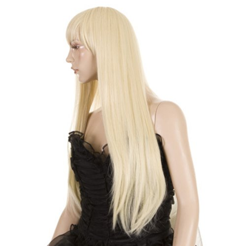 Hair By MissTresses Blonde Long Lady Gaga Style Christina Fashion Wig