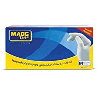 Household Disposable Gloves, M Size, Box of 100 Pieces