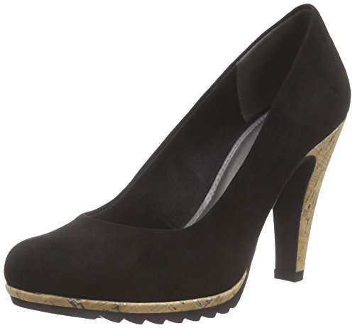 Marco Tozzi Damen 22403 Pumps Schwarz (Black 001)