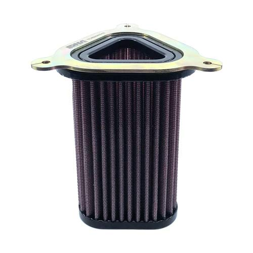 DNA High Performance Airbox Cover and Filter Compatible with Royal Enfield Interceptor...