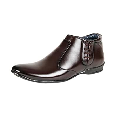 Bacca Bucci Men's Brown Synthetic Formal Shoes Loafers (001-brown-wl ) UK 11