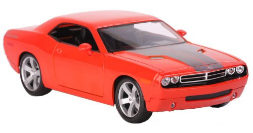 2006-dodge-challenger-concept-maisto-36138-metallic-orange-118-die-cast