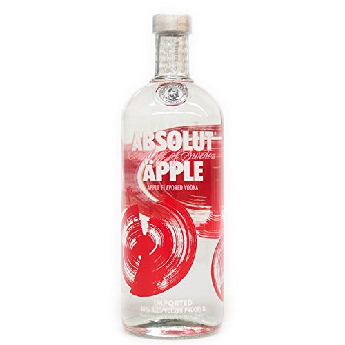 Absolut Vodka Äpple 1,0 Liter