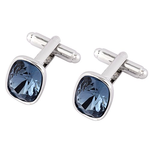 cufflinks-with-swarovski-dark-blue-crystals-rhodium-plated-ideal-gift-for-men-comes-in-gift-box