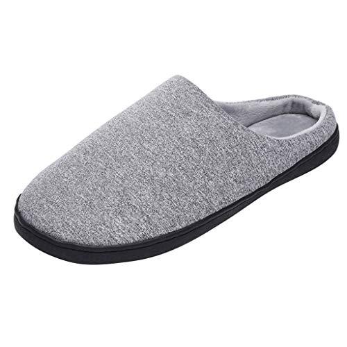 S&H-Qinpin Chaussons, Femmes Hommes Confort Chaud Confort Exquis Pantoufles Maison À L'intérieur Antidérapant Chaussures De Chamb