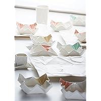 Origami Snackschale aus Porzellan