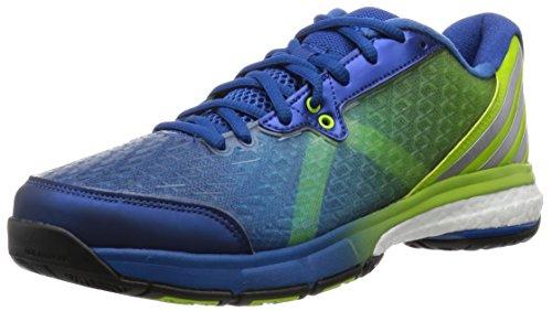 adidas Energy Volley Boost 2.0 - eqtblu/msilve/sesosl, Größe:9.5 (Schuhe Männer Ereignis)