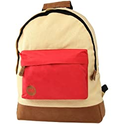 Mi - Pac Two Tone - Mochila Infantil, Color Beige and Red
