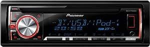 Pioneer DEH-X5600BT CD-Tuner mit Bluetooth (Multicolor-Display, MIXTRAX EZ, AUX, RDS-Tuner, WMA/MP3/WAV, USB) schwarz