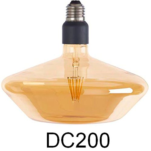 Sylvania Dekorative LED Lampe Sylcone E27 820 = 2000K, 4,5W, 470lm, 200mm Durchmesser (DC200) -