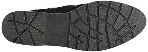 Softline Damen 25265 Combat Boots Schwarz (Black)