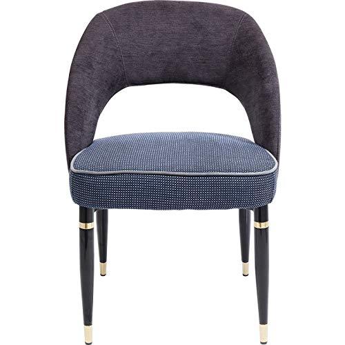 Kare Design Stuhl Samantha 10 Grau 56 83 58 56 x 58 x 83 Stuhl Samantha 10 Teilholz u. MDF -