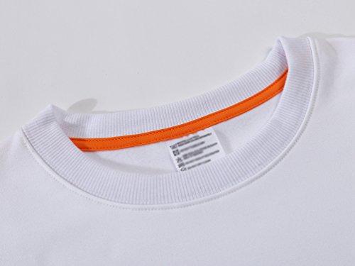 WanYang Unisex Ragazza Maglie Manica Lunga Felpa Pullover Jumper Autunno Inverno Sweatshirt Collare rotondo