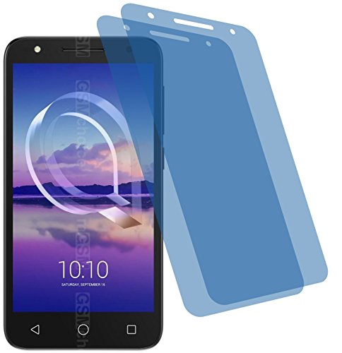 2x Crystal clear klar Schutzfolie für Alcatel U5 HD Displayschutzfolie Bildschirmschutzfolie Schutzhülle Displayschutz Displayfolie Folie