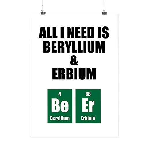 chimie-sagesse-tout-je-avoir-besoin-matte-glace-affiche-a1-84cm-x-60cm-wellcoda