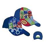 4765 Kinder Cap Basecap Kappe PY Mask Jungen Mädchen Baseballcap Mütze (Blau, 53 cm)