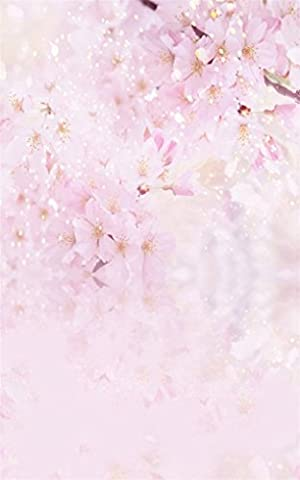 Aaloolaa 1,5x2,2m Vinyl Photography Backdrop Photo Backgrounds Wedding Sweet Flowers Wall Floors Baby Newborn Lovers Girl Children Kids Personal Portrait Scene Props Video Shooting Studio