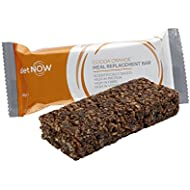 DIET NOW - Meal Replacement Bars | High Protein and Fibre Enriched With Vitamins | Very Low Calorie Diet - 12 Pack - Cocoa Orange Flavour