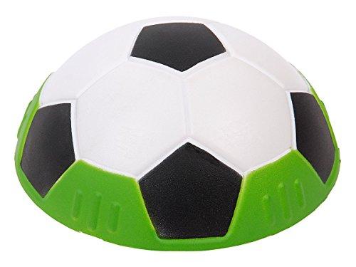 Alsino Demi-Ballon de Foot Soccer Lisse Super Doux Slida Ball Hover De Football Boule De Mousse Glissant Sympa Animation soirée, Choisir:P021013 Noir Blanc