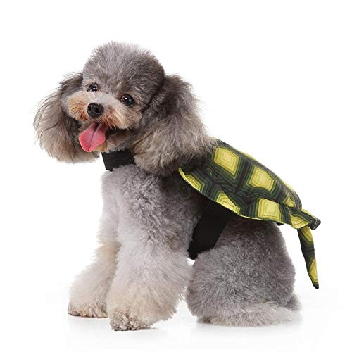 Ecisi Haustier Kostüm Cute Turtle Shell Pet Rucksack, Halloween Karneval Lieferungen Lovely Dog Kostüm Turtle Shell Requisiten Teenage Mutant Ninja Turtles COS Dress Up Requisiten Funny - Teenage Mutant Ninja Turtle Kostüm Hunde
