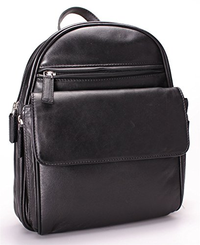 Visconti - Sac à dos / sac à bandoulière - cuir souple - GINA # 01433