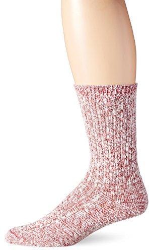 wigwam-cipres-casual-ragg-estilo-calcetines-blanco-rojo-grande-talla-8-115