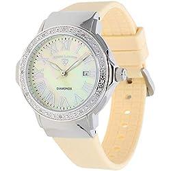 Swiss Legend SL-20032D-016-BG - Reloj para mujer, color beige