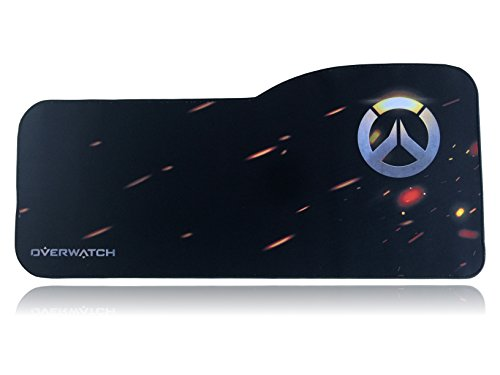 Extended Size Custom Gaming Mouse Pad - Anti Slip Rubber - Stitched Edges - Large Desk Mat - 28.5