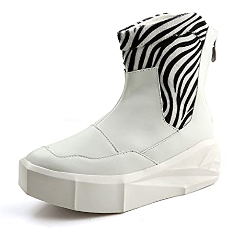 WZX New autumn boots Japanese vintage Rock shoe Europe and