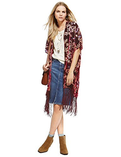 marks-spencer-indigo-collection-devore-motif-floral-kimono-top-taille-s-xl-neuf-multicolore-large