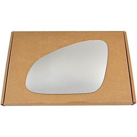 Lato Sinistro passegner Silver Wing specchio per Opel Adam 2012–2015