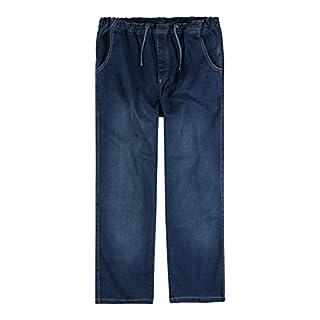 Abraxas XXL Jeans-Hose mit Gummibund stone-wash, XL Größe:6XL