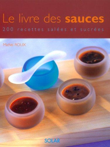 Le livre des sauces