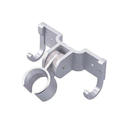 thanly leggero girevole regolabile supporto doccia testa staffa doccetta supporto da parete in alluminio con 2ganci - Alluminio Horse Head