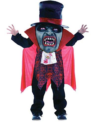Islander Fashions Unisex Vampir Mad Hatter Big Face Kinderkost�m Kid Fancy Halloween Partykleid 7-9 Jahre