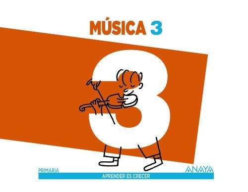 Música 3. (Aprender es crecer) - 9788467848311 por Alfonso Cifuentes Padrino