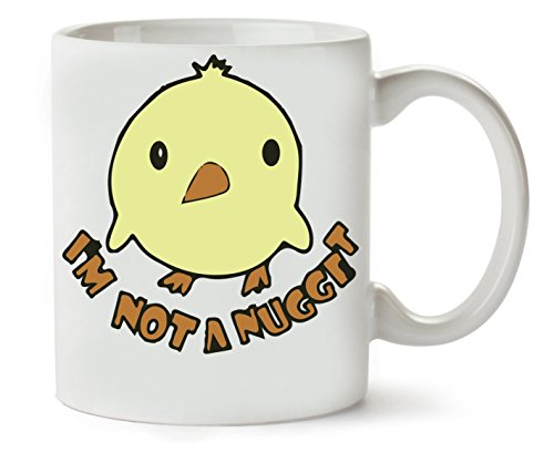 C+P I'm Not A Nugget Klassische Teetasse Kaffeetasse