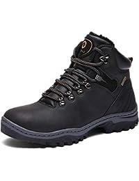 f04a8df2fd8de3 SIXSPACE Winterstiefel Warm Gefütterte Winterschuhe Outdoor Schneestiefel Winter  Boots für Herren Damen