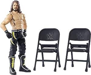 WWE Figura de acción Wrekkin, luchador AJ Styles, juguetes niños +6 años (Mattel GGP08)
