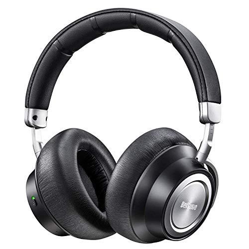 Noise Cancelling Kopfhörer, Boltune Bluetooth Kopfhörer 5.0 Over-Ear Ohrhörer Wireless ANC Headphones mit CVC 6.0 Geräuschunterdrückendes Mikrofon 30 Std Spielzeit für iOS Android TV