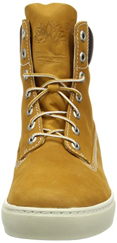 Timberland 2.0 Cupsole 6In Black Nb, Baskets mode homme Jaune (Wheat)