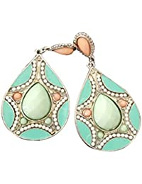 0fa4c718963b Pendientes de perlas de gota de agua - TOOGOO(R)pendientes de perlas de